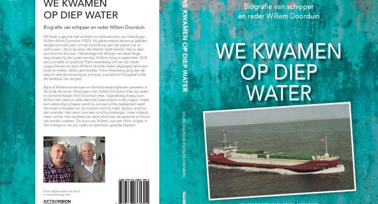 boekcover we kwamen op diep water